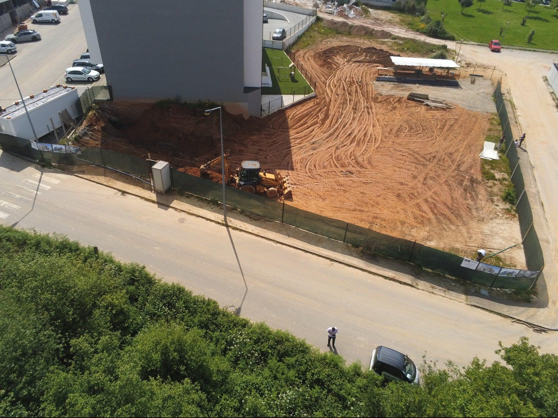 Edifício Vista Alegre III – Início da Construção
